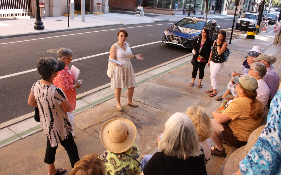 """Providence Festivals: Past and Present"" Walking Tours with RIHS"