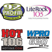 Cumulus radio stations: Hot 106, Lite105 and 92PROFM
