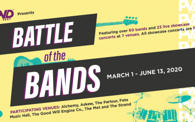 New Battle of the Bands Competition to Kick Off PVDFest Experience on March 1